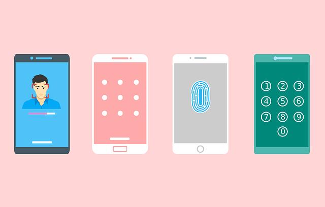 Iphone finger print