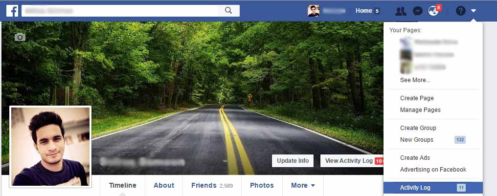 top features on facebook