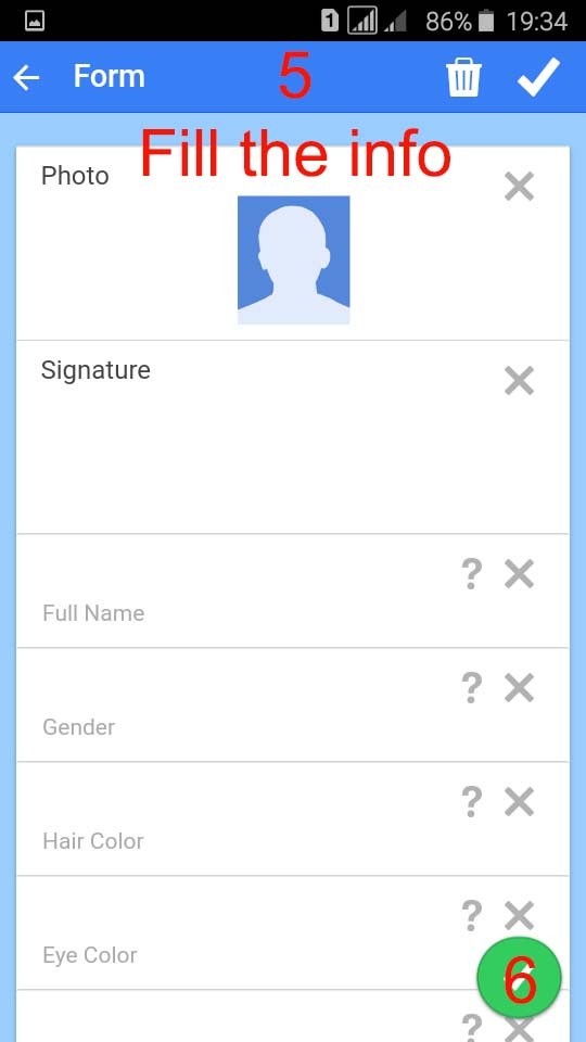 How to create a fake id for facebook