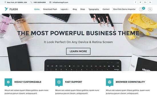 Flash-Free-WordPress-Theme
